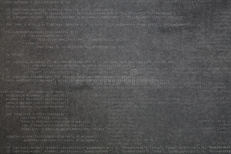 Download Gray Textured Background With Code Stock Illustration - Image: 36327015