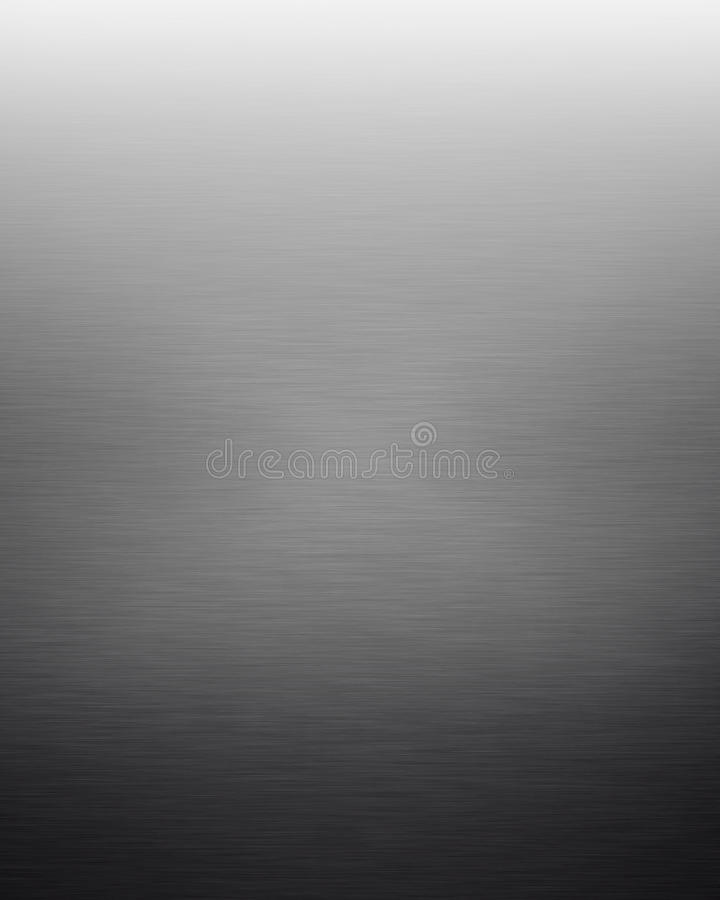 Gray Textured Gradient Background. Gray Brushed Metal Textured Gradient Background
