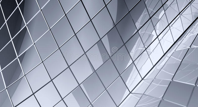 Gray tiled abstract background vector illustration