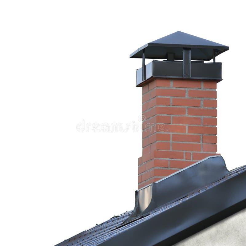 Gray Tiled Roofing, grande primo piano verticale isolato dettagliato, modello strutturato della Camera del tetto del dettaglio re immagini stock libere da diritti