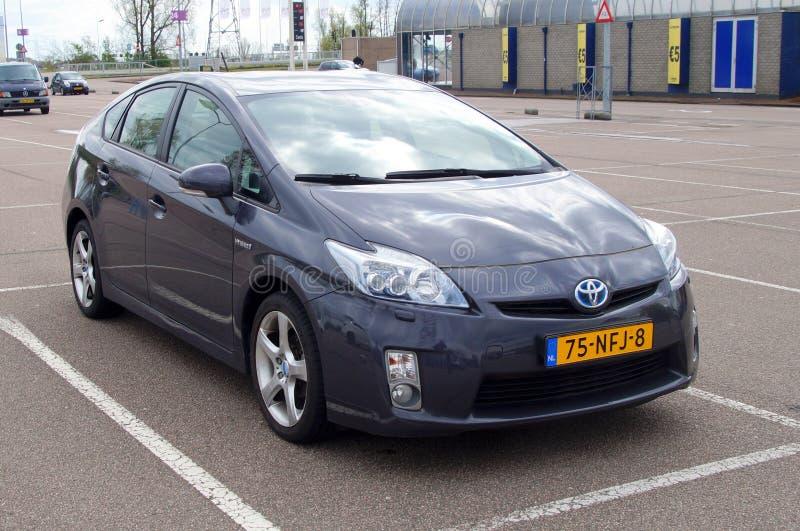 Gray Toyota Prius Hybrid stock afbeeldingen