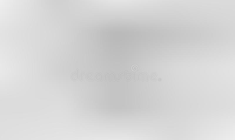 Gray Trendy Gradient Background vibrante Contexto borrado macio Defocused ilustração do vetor