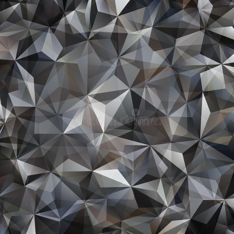 Gray Triangle Abstract Background stock abbildung