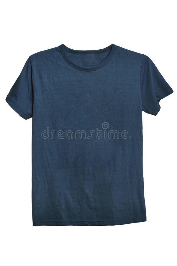 Gray tshirt template ready for your own graphics royalty free stock photo