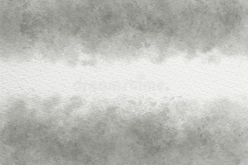 Gray watercolor abstract or vintage paint canvas background. Natural gray watercolor abstract or vintage paint canvas background royalty free stock images