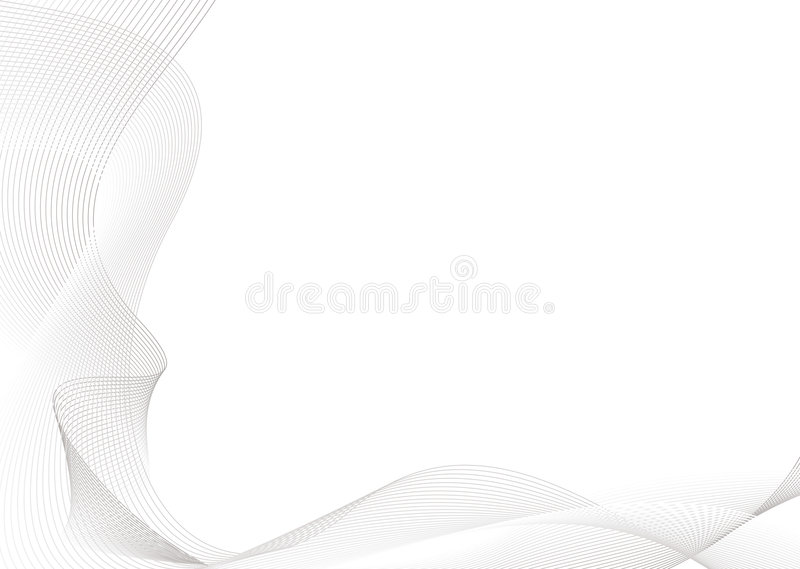 Download Gray wave p stock vector. Image of blend, style, curl - 4628299