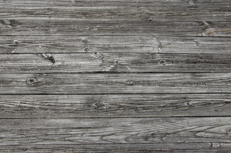 Gray Weathered Wood Planking fotos de stock