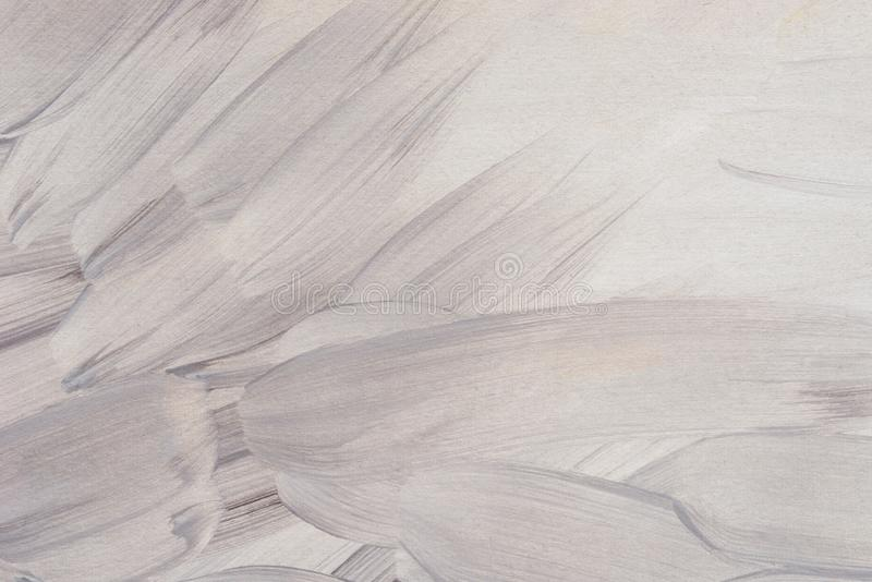 Gray and white art acrylic painted on paper background texture royalty free stock photography