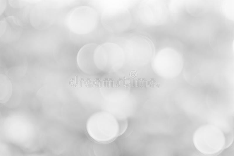 Gray white bokeh background is a shiny, naturally occurring shadow . royalty free stock photo