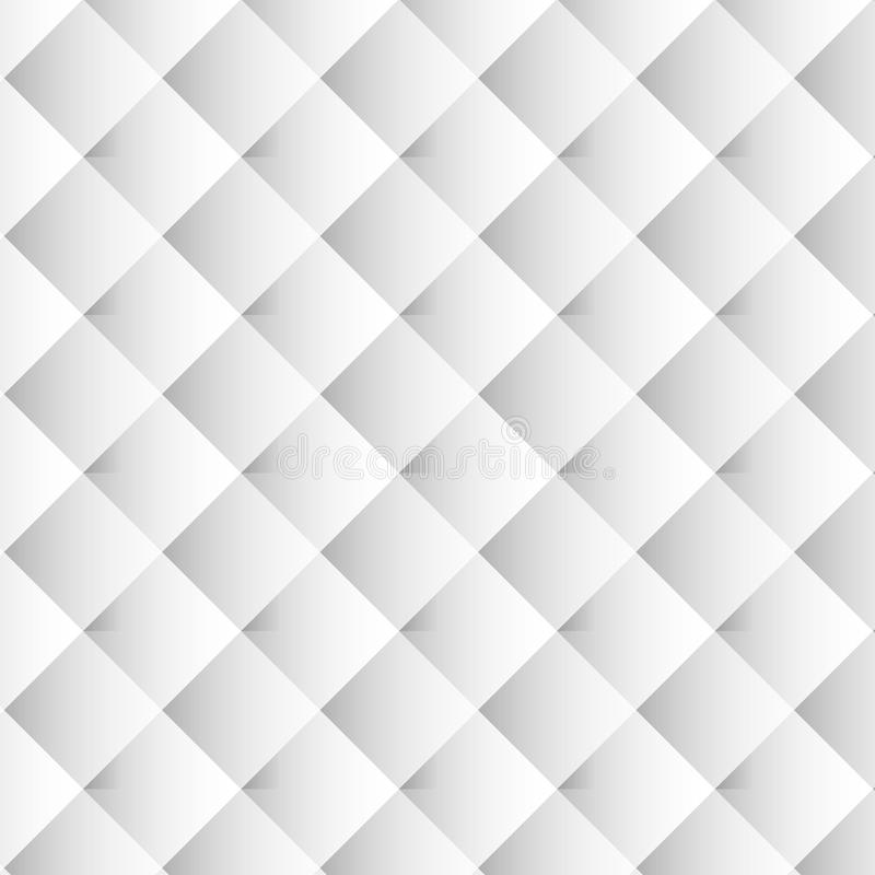 Gray white geometric background for the scenery of a website, banner, flyer, cover art, packaging. stock illustration