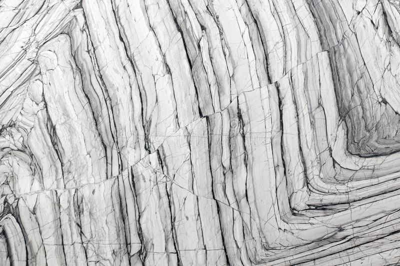 Gray, white marble texture with natural pattern for background or design art work. royalty free stock photography