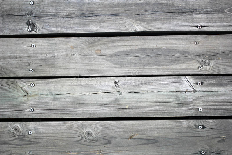 Gray Wood Plank stock foto's