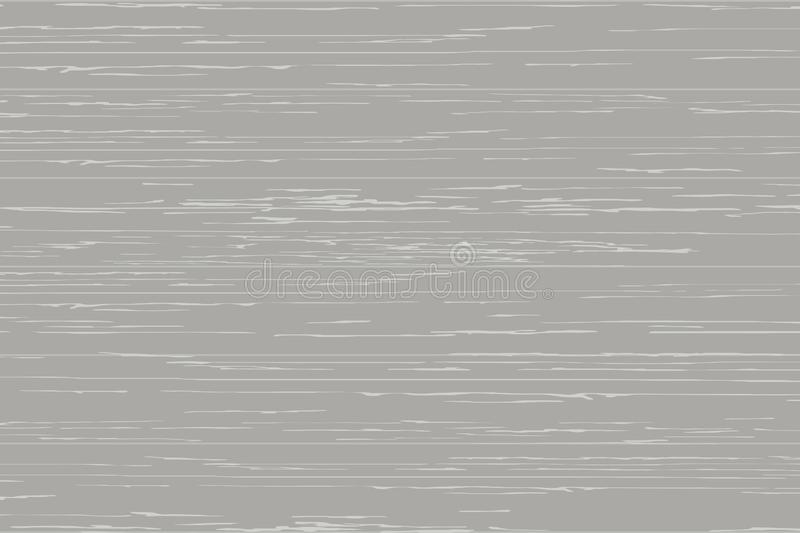Gray wood plank texture for background. Vector. Illustration royalty free illustration