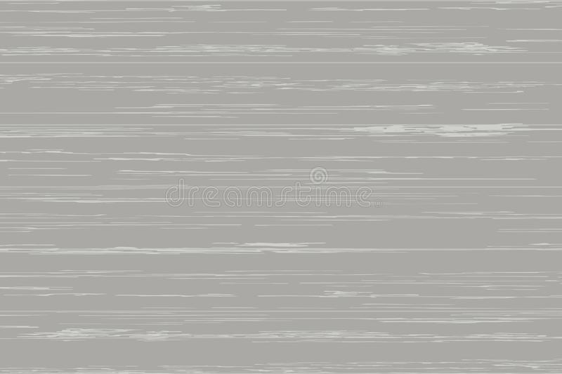 Gray wood plank texture for background. Vector. Illustration stock illustration