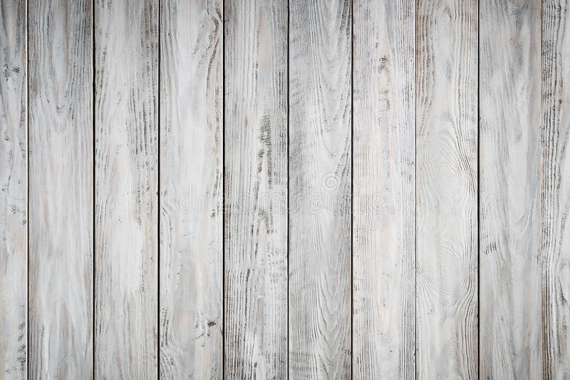 Gray wooden background with old painted boards royalty free stock image