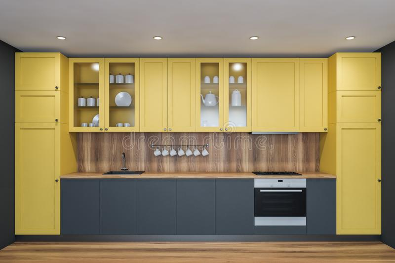 Yellow Cupboards Stock Illustrations 75 Yellow Cupboards Stock