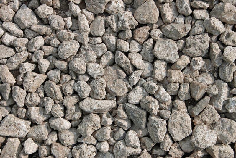 grayish många lilla stenar royaltyfria bilder