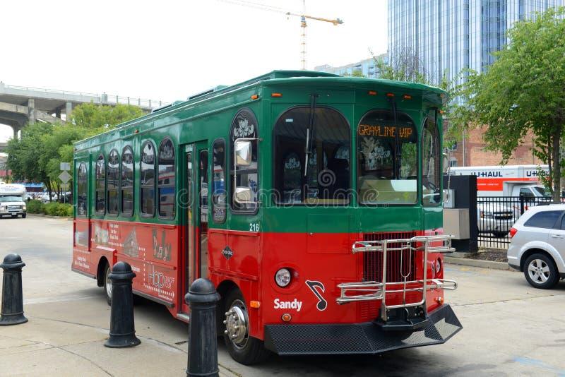Grayline wycieczka autobusowa, Nashville, Tennessee, usa obraz royalty free