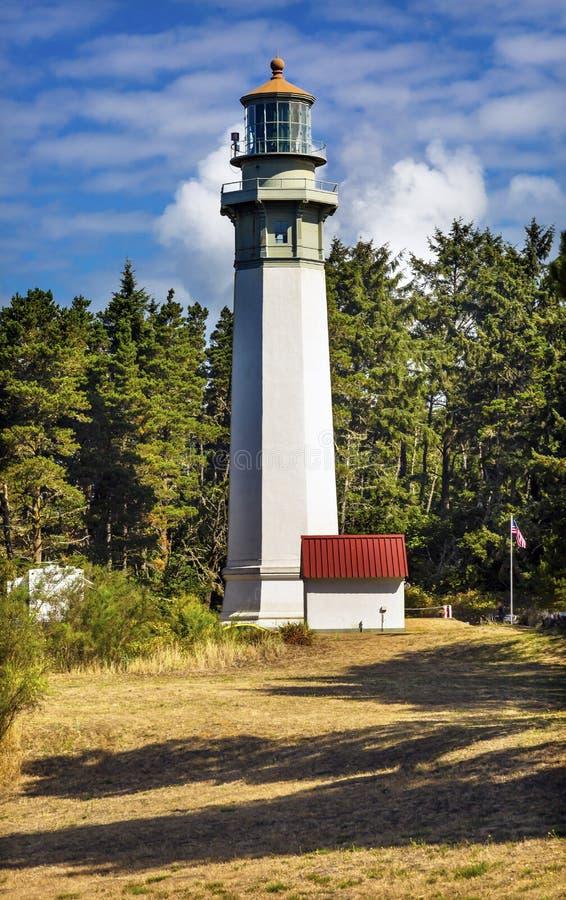 Grays Harbor Lighthouse Maritime Museum Westport Washington. Grays Harbor Lighthouse Maritime Museum Westport Puget Sound Washington State Pacific Northwest stock photo