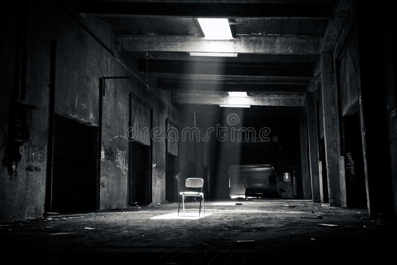 Grayscale Photo Of Chair Inside The Establishment Free Public Domain Cc0 Image