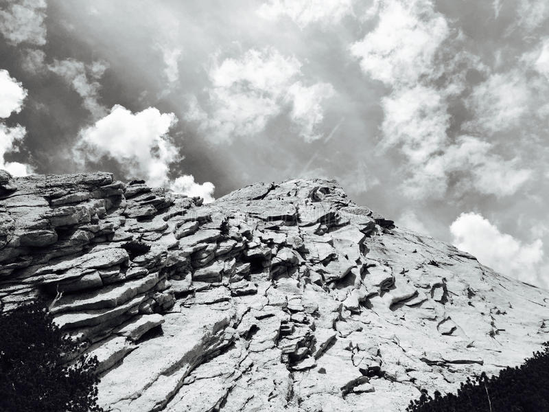 Grayscale Photo Of Rock Formation During Daytime Free Public Domain Cc0 Image