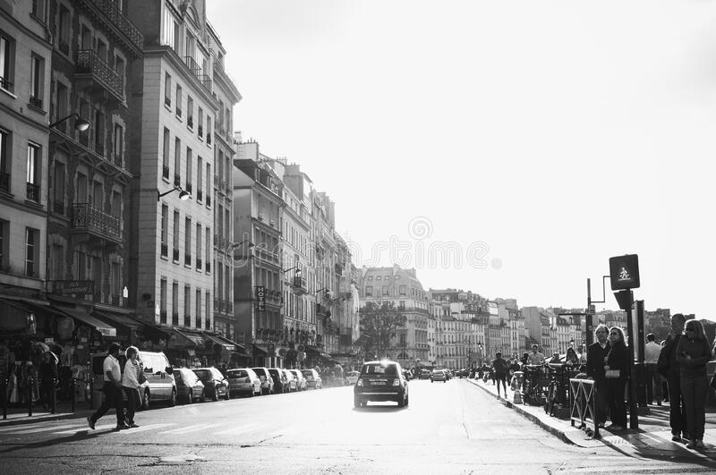Grayscale Photo Of Town Free Public Domain Cc0 Image