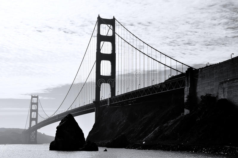 Grayscale Photography Of Bridge Free Public Domain Cc0 Image