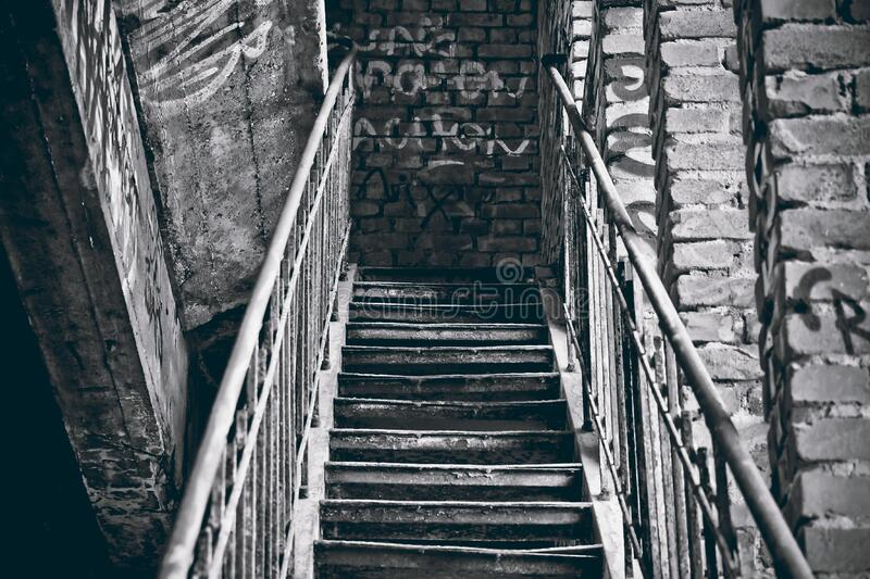 Grayscale Photography Of Staircase Free Public Domain Cc0 Image