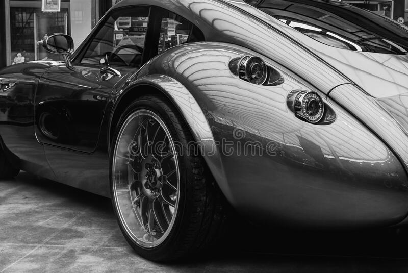 Grayscale Photography Of Tvr Tuscani Free Public Domain Cc0 Image
