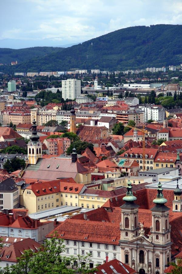 Graz, Österreich stockfotos