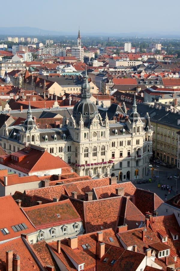 Graz Austria imágenes de archivo libres de regalías