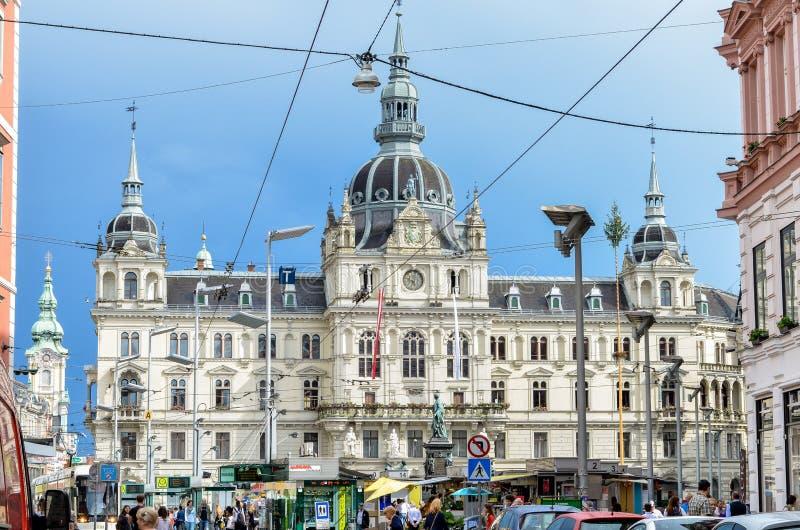 Graz, Austria imagen de archivo libre de regalías