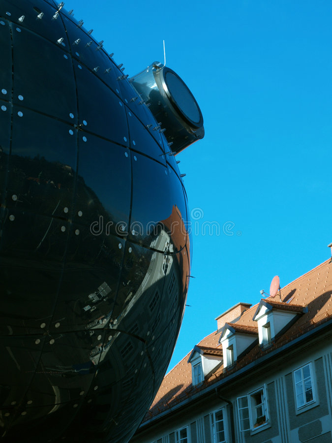 Graz-Reflexionen stockbilder