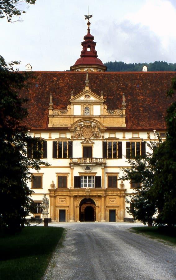 Graz - Schloss Eggenberg lizenzfreie stockbilder