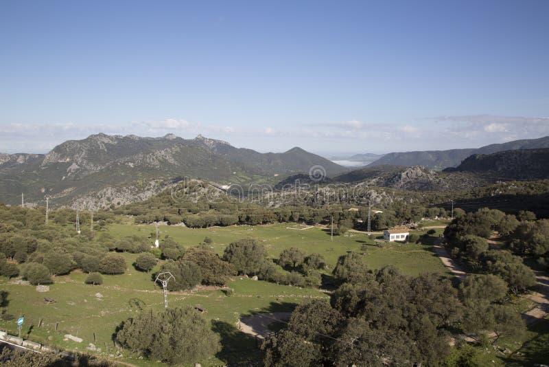 Grazalema park narodowy zdjęcie royalty free