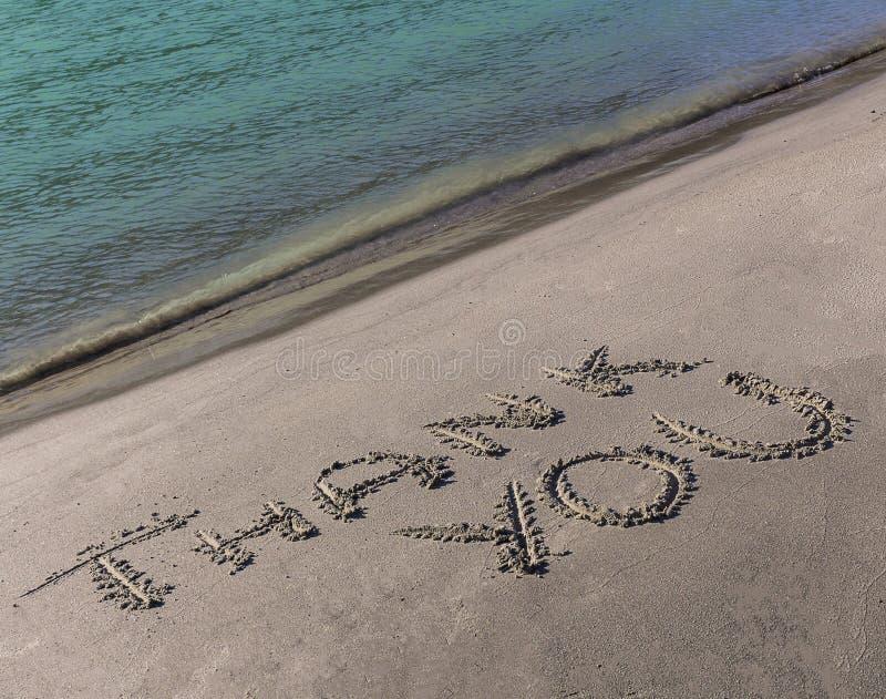 Grazie esprimere attinto la riva del fiume del Gange immagini stock