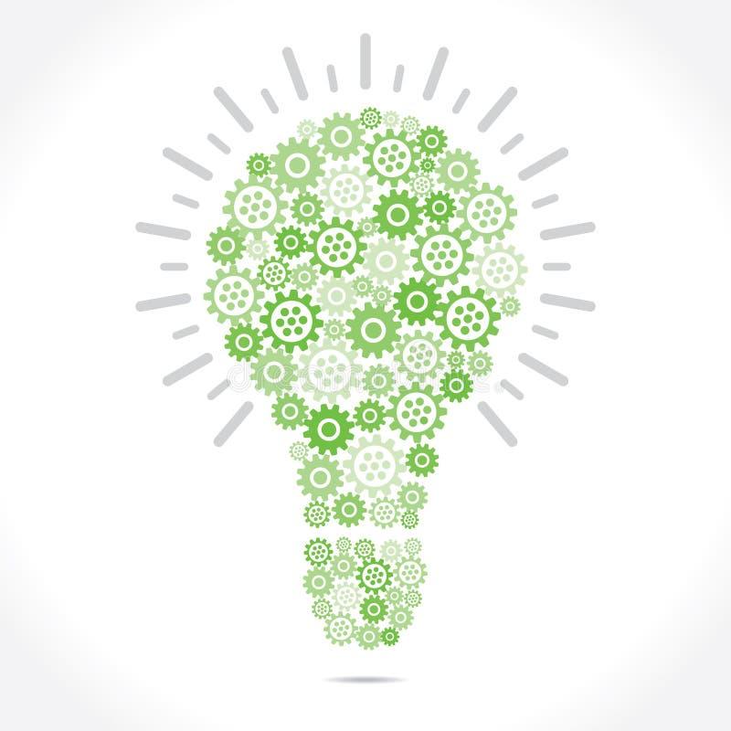 Grear verde faz o bulbo ilustração do vetor