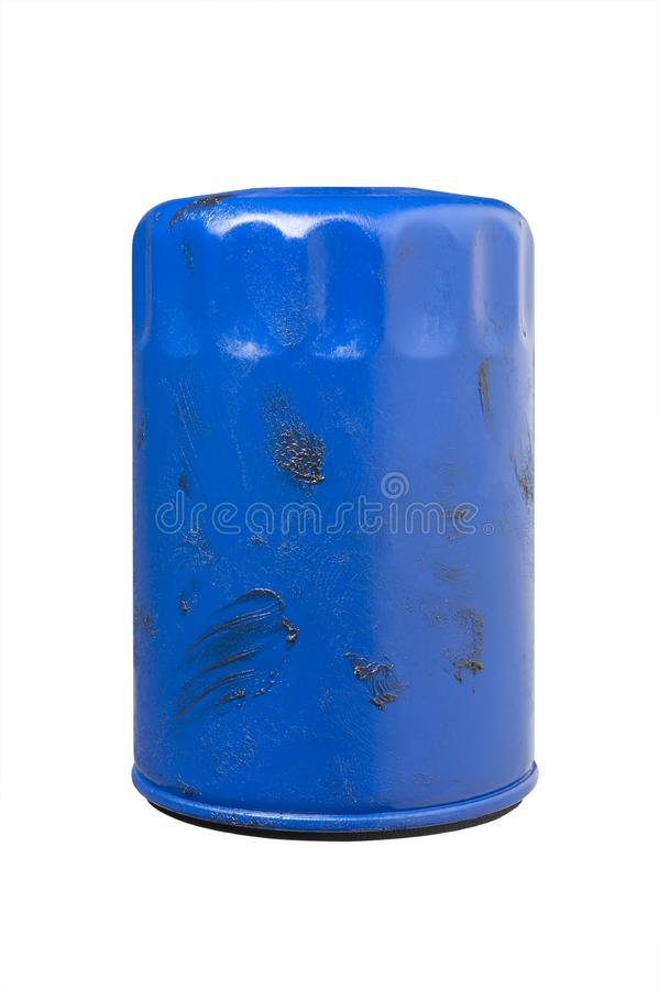 Download Greasy Used Automotive Oil Filter Stock Image - Image: 8665487