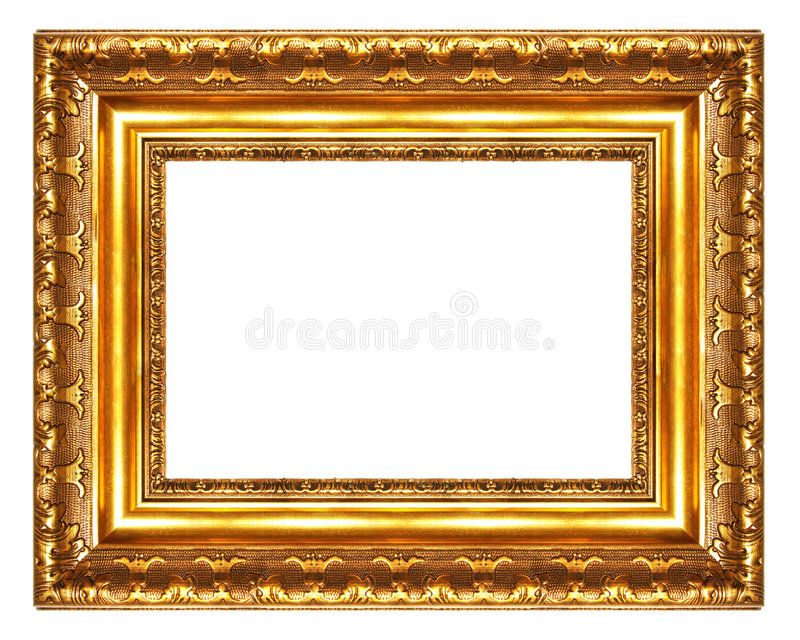 Great antique frame stock photography