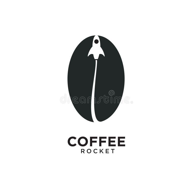 Coffee Rocket Logo stock image