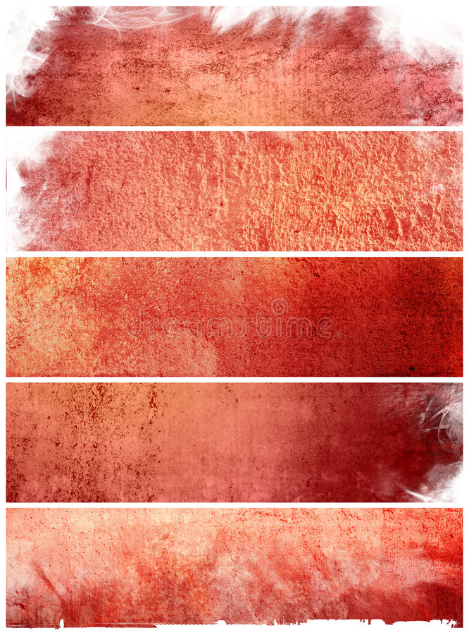 Download Great banners backgrounds stock illustration. Image of damaged - 8393184