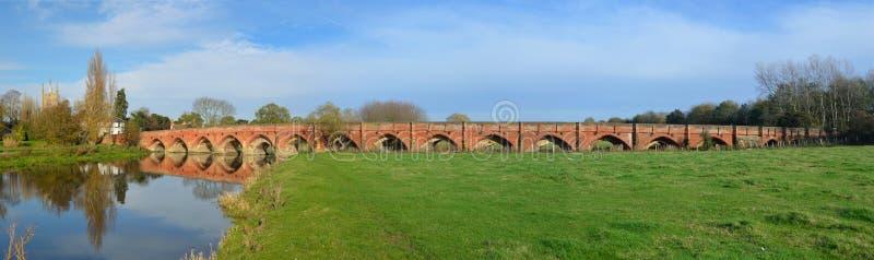 Great Barford Bridge stock photos
