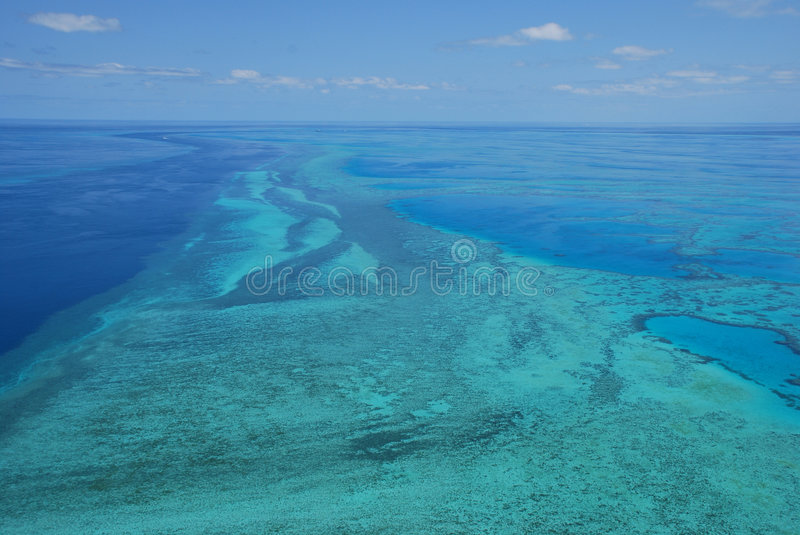 Great Barrier Reef - Australia royalty free stock photos