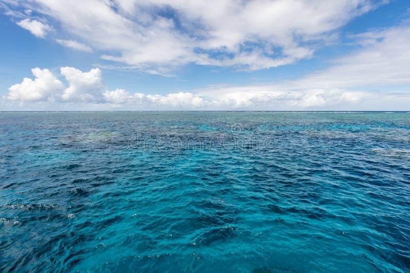 Great Barrier Reef, Cairns, Queensland, Australia stock photography