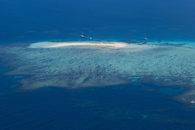 Coastline Australia_Great Barrier Reef. Great Barrier Reef at Coastline Australia stock photos