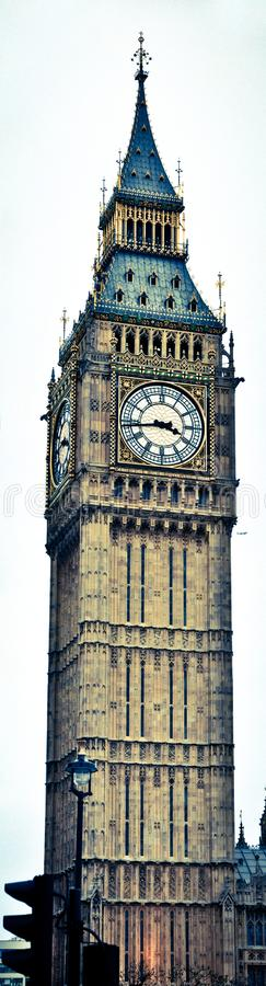 The Great Bell Tower of Big Ben stock photo