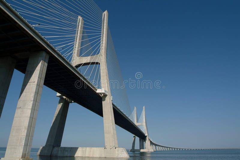 Great bridge royalty free stock image