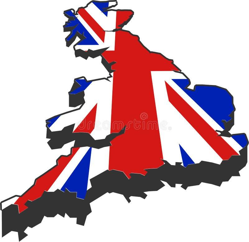 Great Britain royalty free illustration