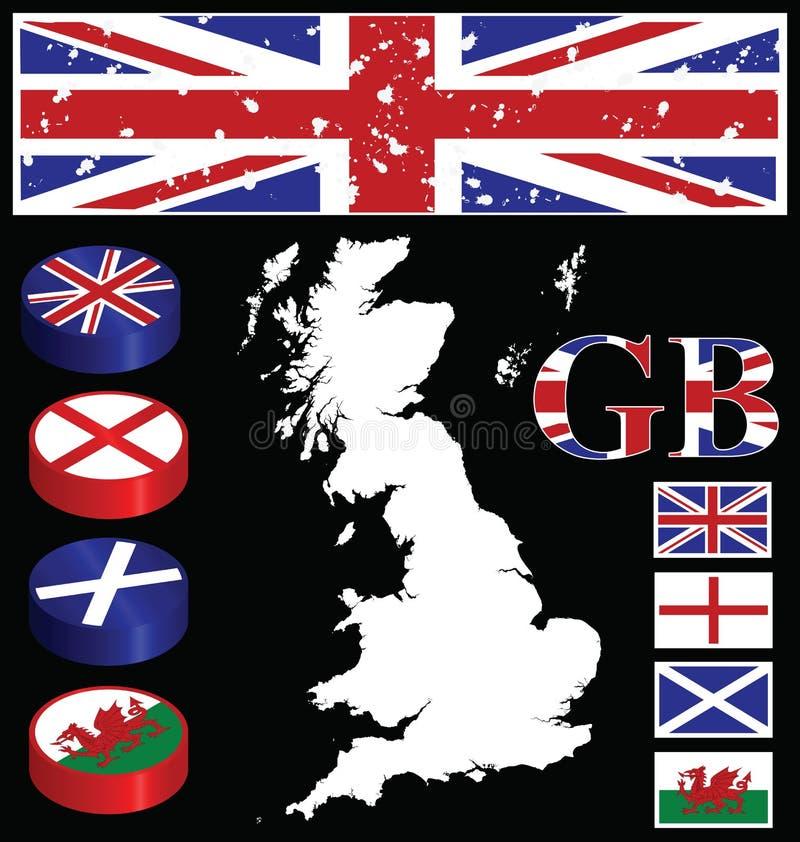 Download Great Briton stock vector. Image of blue, empire, heraldic - 14942781