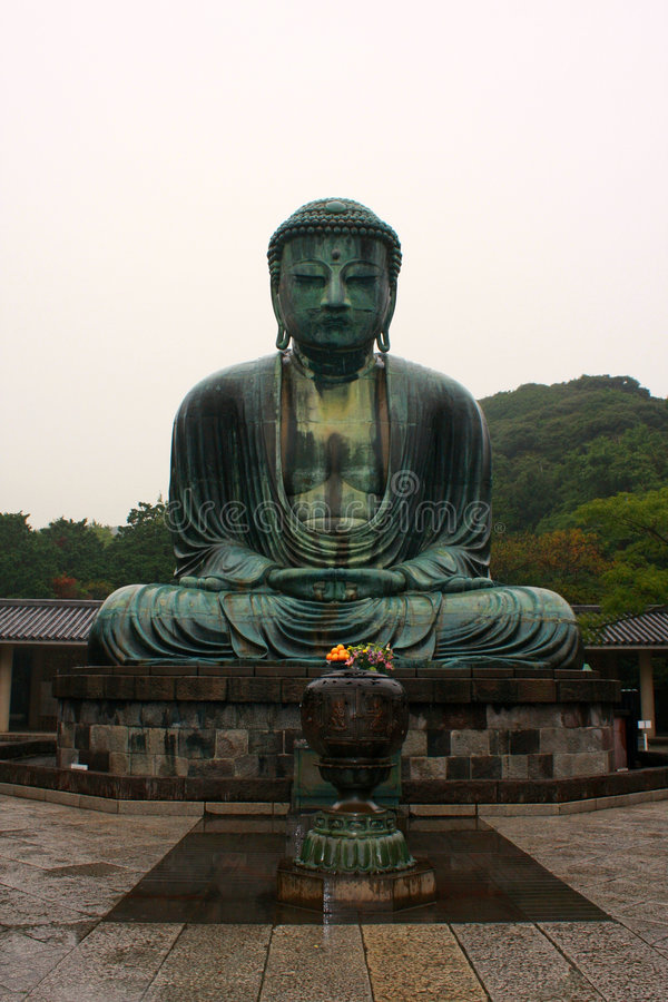 The Great Buddha Statue royalty free stock photography